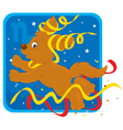 Zodiacal sign of the Goat vector image