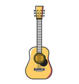 guitar-acoustic vector image