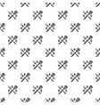 bbq pattern seamless vector image vector image