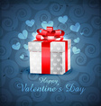 love gift box vector image