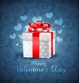 love gift box vector image vector image