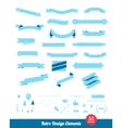 Vintage styled design elements collection vector image