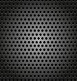Hexagon metal background vector image