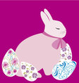 Easter Bunny 5 vector image vector image