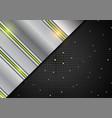 hi-tech abstract silver metallic background vector image vector image