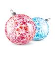 mosaic bright balls vector image vector image