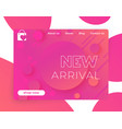 new arrival banner for web