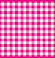 pink white seamless pattern traditional fabric vector image vector image