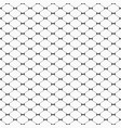 seamless monochrome minimalistic pattern vector image vector image