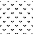 steak house pattern seamless vector image vector image