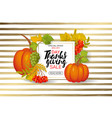 thanksgiving day sale design sale banner with vector image vector image