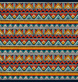 tribal seamless pattern colorful abstract vector image