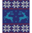 blue white and red jumper vector image vector image