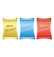 color backgrounds - papyrus - merry christmas vector image vector image