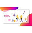 creative teamwork business innovation concept vector image vector image