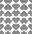 cross stitch seamless decorative pattern with vector image