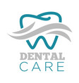 dental care dentist service isolated icon tooth vector image vector image