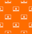 laptop pattern seamless vector image vector image