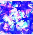 large frosty blue stars on a light background in vector image vector image