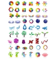 Logo collection set vector image vector image