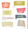 modern badges collection 1 vector image vector image