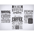 Poster lettering take coffee vector image vector image