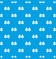 seat theater pattern seamless blue vector image vector image