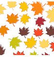 set four backgrounds with leaves and twigs vector image vector image