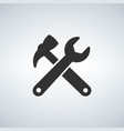 wrench hummer icon vector image
