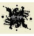 Drop blot vector image vector image