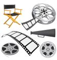 film objects vector image vector image