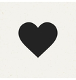 Isolated Heart Icon vector image vector image