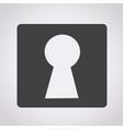 keyhole icon vector image