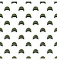 military helmet pattern vector image vector image