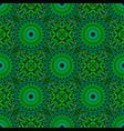 oriental multicolor abstract floral mandala vector image vector image