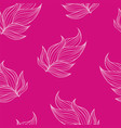 seamless floral background pattern nature theme vector image vector image