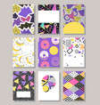 abstract layout design pattern texture vector image vector image