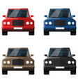 car set off-road vehicle suv car for your vector image