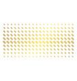dna spiral golden halftone array vector image vector image