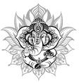 Ganesha vector image vector image
