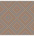 Orange with peel and orange slice seamless vector image vector image