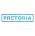 Pretoria Rubber Stamp vector image