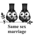 Same Sex Marriage vector image vector image