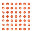 49 sad icons vector image vector image