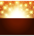 bright golden background vector image vector image