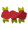flowers icon image vector image vector image