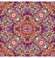 retro pattern of geometric shapes Seamless vector image vector image