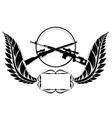 Sniper rifles-2 vector image