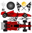 Formula car and objects