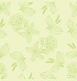 herbal pattern 1 vector image vector image